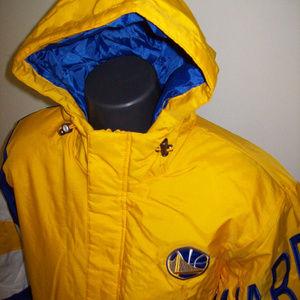 GOLDEN STATE WARRIORS NBA Starter KNOCKOUT Jacket
